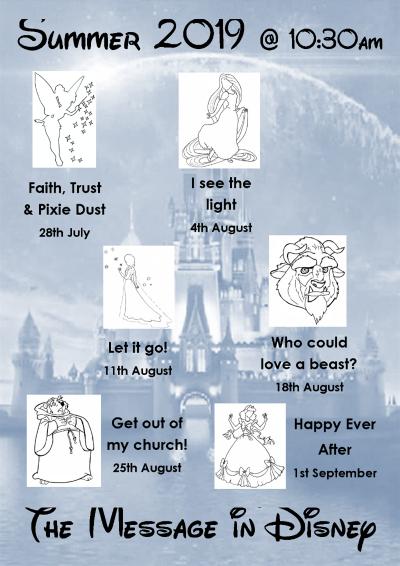 Trafalgar Road Baptist Church : Disney poster